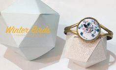 Collection WINTER BIRDS - Bijoux en émail réalisés à la main - Amandine Barry - Créatrice d'émotions