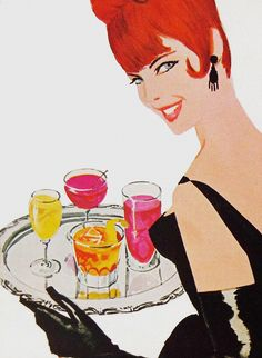 vintage cocktails http://www.pinterest.com/diadelosmuert0s/inspirational-old-photos-and-ads/