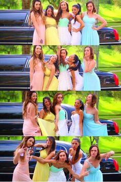 Mia, Niki, Eva, Gabi, and Alisha