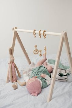 Wooden baby gym no hangers only frame three wooden rings image 1 Travel Theme Nursery, Baby Nursery Themes, Brown Crib, Baby Activity Gym, One Month Baby, Nursery Curtains, Wishes For Baby, Crib Bedding Sets, Newborn Baby Gifts