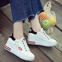 Trendy Shoes, Cute Shoes, Casual Shoes, Shoes Flats Sandals, Shoes Sneakers, Kawaii Accessories, Fashion Shoes, Fashion Outfits, Shoe Department