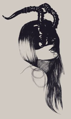 Mysterious masked ladies illustrated by Dasha Pliska