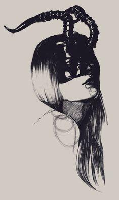 Mysterious masked ladies illustrated by Dasha Pliska