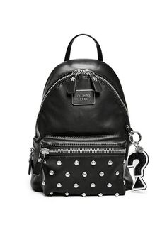 2b304d9674fdf8 BS663331-BLA Faux Leather Backpack, Too Cool For School, Vegan Fashion,  Fashion