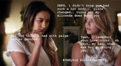 Pretty Little Liars Emison Meme