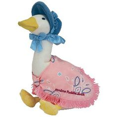 bd13b41efe1 TY Beanie Baby - JEMIMA PUDDLE -DUCK the Duck (UK Exclusive) (7 inch)