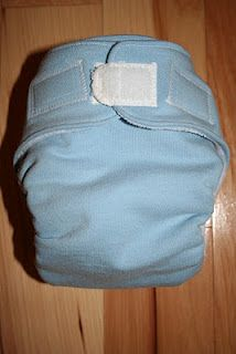 Pattern for homemade cloth diapers