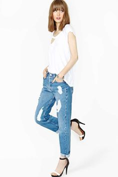 After Party Smitten Boyfriend Jeans