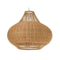 Wicker light for guest room