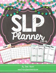 SLP Planner 2015-16