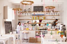 Birdcage Cafe Gift Shop & Tea house... A Pretty Pastel Cafe In South Africa