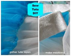 how to make a tutu with sewing machine