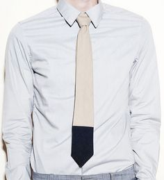 Dipped tie