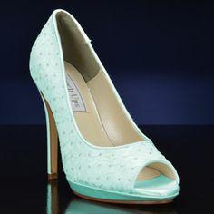 Mint wedding shoes?