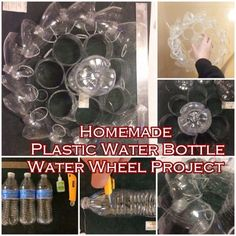 """Homemade Plastic Water Bottle Water Wheel Project Homesteading  - The Homestead Survival .Com     """"Please Share This Pin"""""""