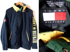 Excited to share the latest addition to my #etsy shop: Rare Tommy Hilfiger Windbreaker/ Green/ Tommy Hoodie/ Tommy Hilfiger Sweater/ Tommy Hilfiger Sailing Gear Small
