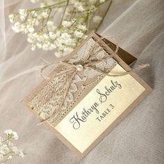Bilderesultat for diy bordkort bryllup