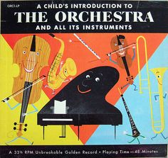 A Child's Introduction to the Orchestra and All its Instruments by Paula Wirth, via Flickr