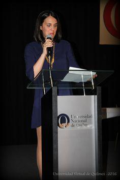 Palabras a cargo de la Lic. Andrea Paola Arauz -  Mención de Honor