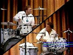 Here is the best of Buddy's drum battles, with the late, great Ed Shaughnessy