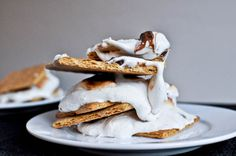 beer marshmallow s'mores - can't get more football than that