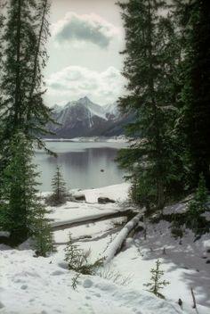 Medicine Lake, Jasper National Park Winter Scenery, Winter Trees, Winter Snow, Winter White, All Nature, Winter Pictures, Winter Landscape, Pics Art, Belle Photo