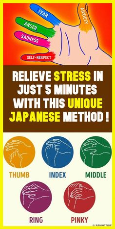Relieve Stress In Just 5 Minutes With This Simple Japanese Method ! Relieve Stress In Just 5 Minutes With This Natural Cures, Natural Health, Natural Treatments, Healthy Habits, Healthy Tips, Healthy Recipes, Healthy Foods, Healthy Beauty, Healthy Choices