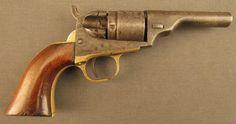 Colt Solid Barrel Type Pocket Cartride Revolver