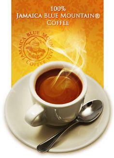 Jamaica Blue Mountain Coffee...tastes great too