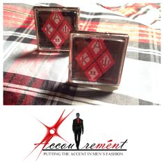 Kappa Diamond Cufflinks