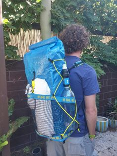 Mitch's Do It Yourself (DIY) Homemade IKEA Backpack, and other gear, for Ultralight camping and backpacking Camping Lights, Diy Camping, Camping Survival, Survival Gear, Camping Gear, Homemade Backpack, Diy Backpack, Ikea Hacks, Ultralight Backpacking