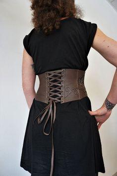 caa3e1f1ea31 brown leather belt with leaves Ceinture, Cuir, Ceintures En Cuir, Gn, Belt