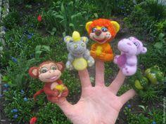 Купить Зоопарк - пальчиковый театр - пальчиковый театр, пальчиковые игрушки, пальчиковые куклы, бибабо