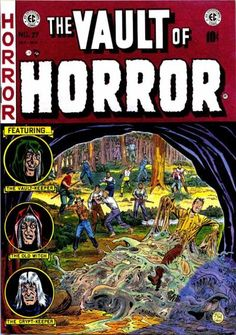 Cover for Vault of Horror (1950 series) #27
