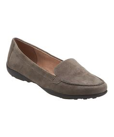 Look at this #zulilyfind! Gray Jeyden Suede Loafer #zulilyfinds