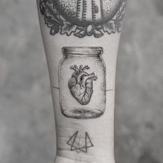 Anatomical heart inside a jar by mr.k_tattoo anatomical tattoos, anatomical heart drawing, K Tattoo, Body Art Tattoos, Sleeve Tattoos, Small Tattoos, Tatoos, Cool Tattoos For Guys, Tattoos For Women, Anatomical Tattoos, Catrina Tattoo