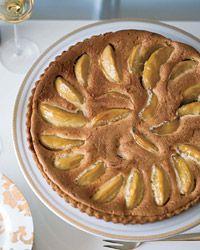 Granny Smith Apple and Brown Butter Custard Tart