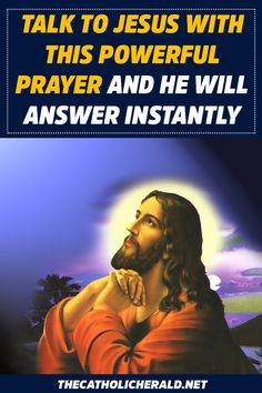 Ask and Pray for a Miracle with this Powerful Prayer and Lord Jesus will make it Happen for You - The Catholic Herald Holy Week Prayer, God Prayer, Prayer Quotes, Power Of Prayer, Jesus Quotes, Bible Quotes, Son Quotes, Lent Prayers, Angel Prayers