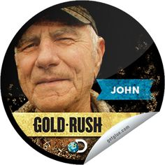 Steffie Doll's Gold Rush: The Night Shift Sticker | GetGlue  Great show & don't you wish John was your grandpa