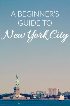 Heading to New York City for the first time?  Be sure to check out some of these must-see spots!