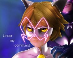 «Under my command» - Chat Blanc and his evil father, hope you like it! - #adrinette #ladynoir #marichat #ladrien #miraculousladybug #chatblanc