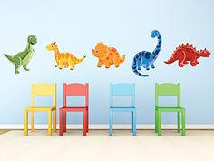 online shopping for Sunny Decals Dinosaur Fabric Wall Decals (Set from top store. See new offer for Sunny Decals Dinosaur Fabric Wall Decals (Set Art Wall Kids, Wall Art, Dinosaur Wall Decals, Dinosaur Nursery, Dinosaur Fabric, Cheap Vinyl, Nursery Wall Stickers, Textured Walls, T Rex