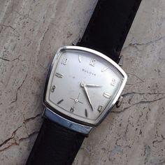 1960 Bulova Asymmetrical Fifth Avenue New York Vintage Men's Watch Serviced | eBay