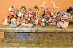 Chris Hammock carvings