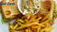 50% off Your Choice of Delicious Sandwiches from the Menu of Chef Zareh  ($5)