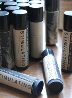 Stimulating lip balm by Tooth of the Lion Apothecary