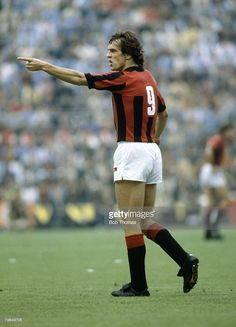 Scottish footballer and forward with AC Milan, Joe Jordan pictured on the pitch during a game for the Italian club circa Joe Jordan won 52 Scotland international caps between Get premium, high resolution news photos at Getty Images Sport Football, Football Fans, Football Shirts, Football Players, Soccer, Joe Jordan, Football Italy, Newest Jordans, World Star