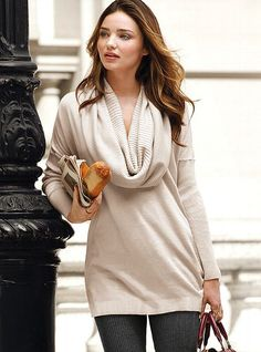 Multi-way Tunic Sweater - Victoria's Secret. in all the colors.