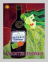 Absente Absinthe Refined art by Alain Despert