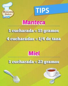 #Tips de medidas y equivalencias Convection Cooking, Making Life Easier, Kitchen Hacks, Food Hacks, Cooking Tips, Cupcake Cakes, Bakery, Food And Drink, Celebrity Hairstyles